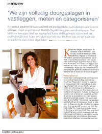 Interview Liesbeth Hop in Kraamsupport